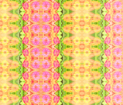 edit_c_zinnia_border_6300x300_Picnik_collage fabric by khowardquilts on Spoonflower - custom fabric