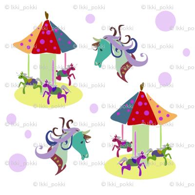 Horsey, horsey, carousel
