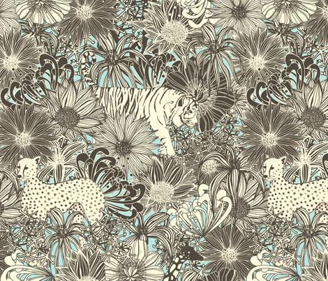 Hide & Seek fabric by lydia_meiying on Spoonflower - custom fabric