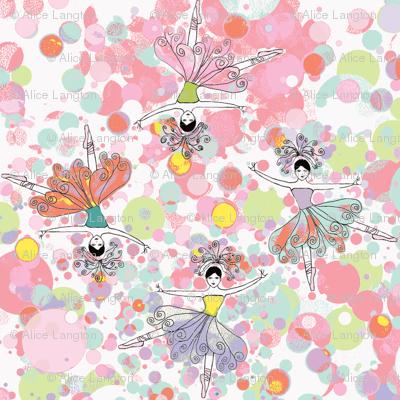 ballet dancers kaleidoscope 2