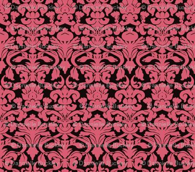 Light Pink Damask