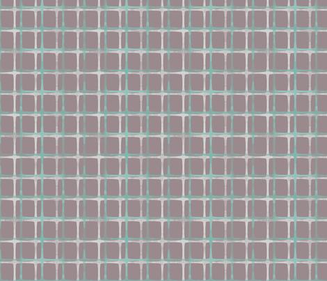 Mod Plaid (grey) fabric by leighr on Spoonflower - custom fabric