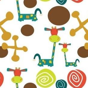 Jessie Giraffe Sheets