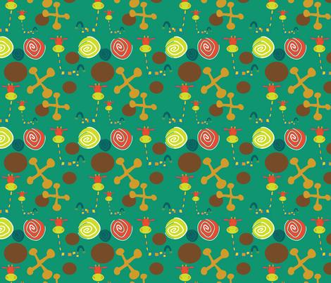 Jessie Giraffe Sheets Blue fabric by sbd on Spoonflower - custom fabric