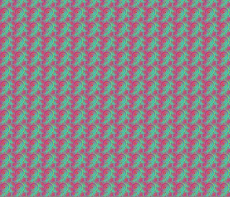 In My World- Swirls fabric by eskimokissez on Spoonflower - custom fabric