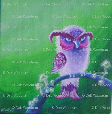 owl with attitude