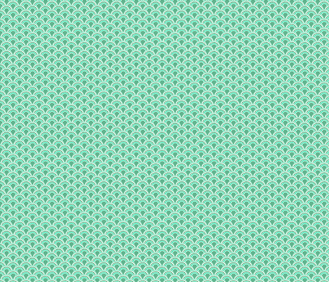 Scales in Teal fabric by ifneedb on Spoonflower - custom fabric