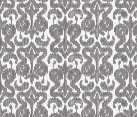 Ikat fabric by janelle_wooten on Spoonflower - custom fabric