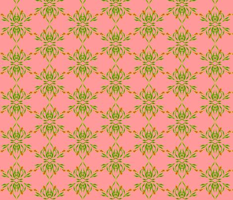 Sherbert Floral fabric by jadegordon on Spoonflower - custom fabric