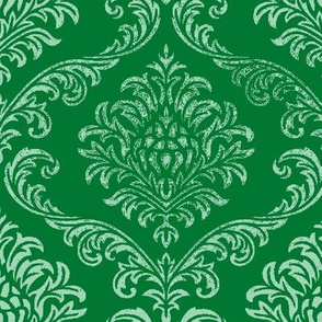 timeless brocade emerald