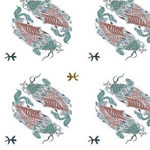 Pisces Fish Circle