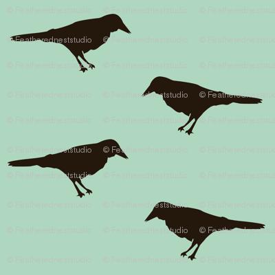 crow_fabric_blue