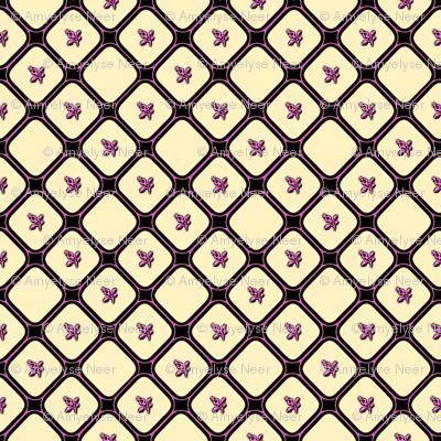 Pink Flower Net