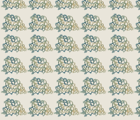 Tatted Cloud fabric by amyelyse on Spoonflower - custom fabric