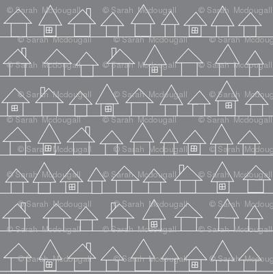 Houses in my Neighborhood- Gray