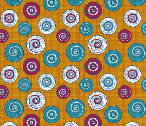 Umbrellas fabric by nekineko on Spoonflower - custom fabric