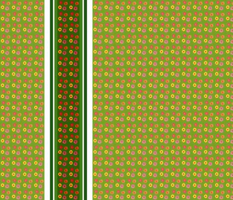 edit_four_zinnia_stripe_border fabric by khowardquilts on Spoonflower - custom fabric