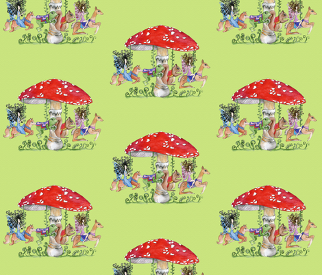 all the fun of the fair..ies fabric by uzumakijo on Spoonflower - custom fabric