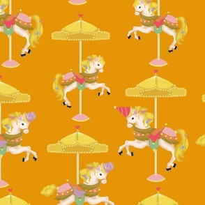 Orange Carousels