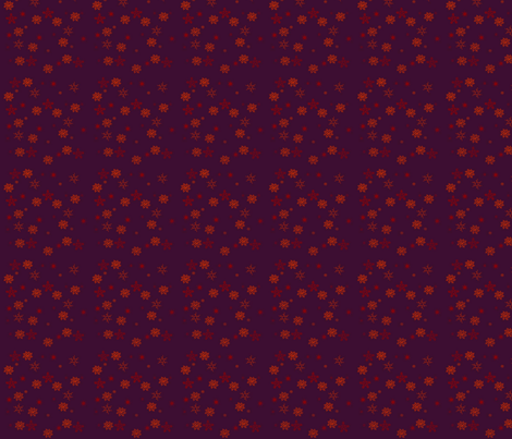 Christmas_Snow fabric by snooky on Spoonflower - custom fabric