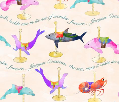 Sea Wonder fabric by eclectic_mermaid on Spoonflower - custom fabric