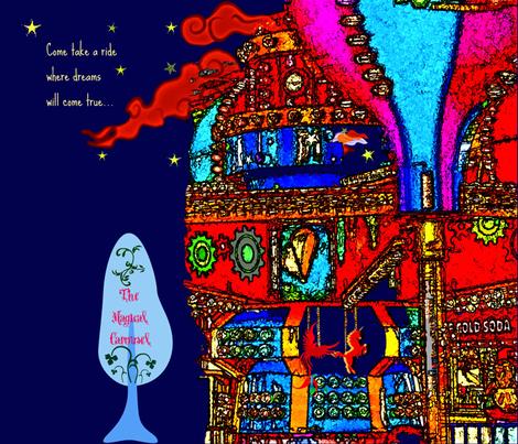 magic_cara fabric by adilah on Spoonflower - custom fabric