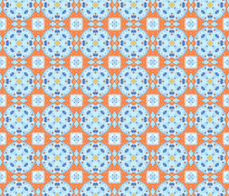 A Fair Summer's Day! fabric by rhondadesigns on Spoonflower - custom fabric
