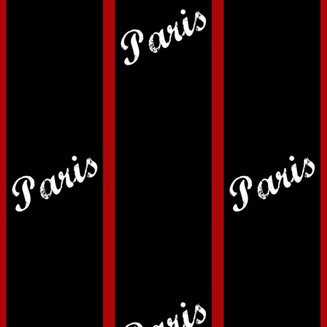 Ohh la la! Paris stripe fabric by paragonstudios on Spoonflower - custom fabric