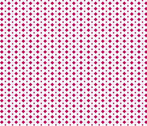 Pink Diamonds fabric by audreyclayton on Spoonflower - custom fabric