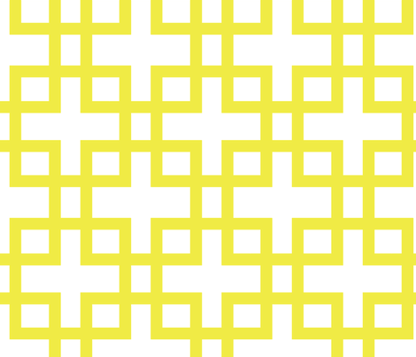 Big Box-Yellow fabric by honey&fitz on Spoonflower - custom fabric