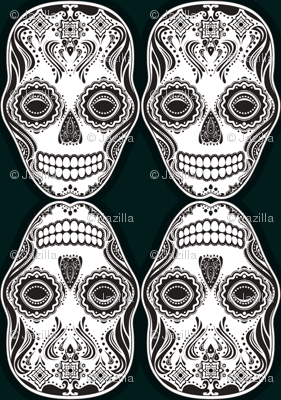 Dia de los Muertos That Girl Skull