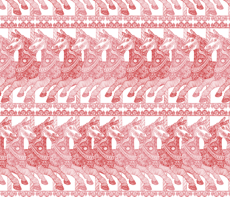 The Carousel fabric by valentinaharper on Spoonflower - custom fabric