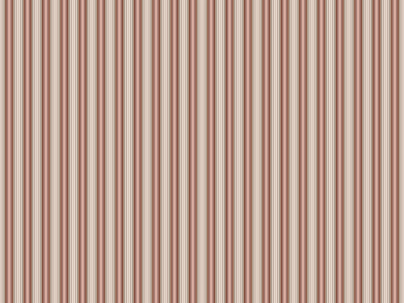 Vintage Shabby Rose Stripe Wallpaper
