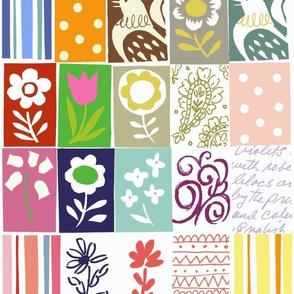 Cutie quilt sampler