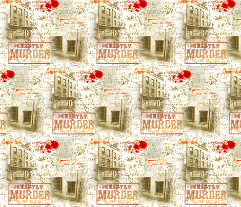 Jack the Ripper fabric by tamarack on Spoonflower - custom fabric