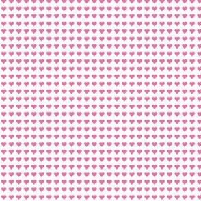 Small Pink Heart Micro Print