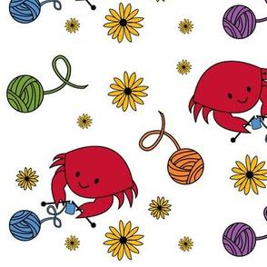 knit crabfabulous