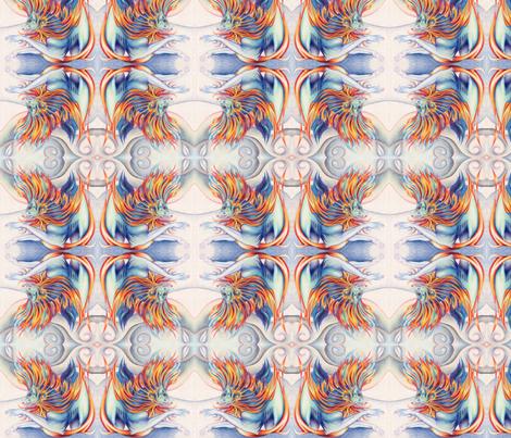 Cold Fury fabric by elfiedoughnut on Spoonflower - custom fabric