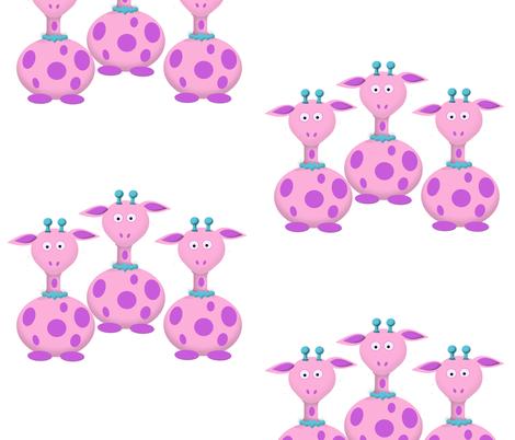 Triplets fabric by duchess on Spoonflower - custom fabric