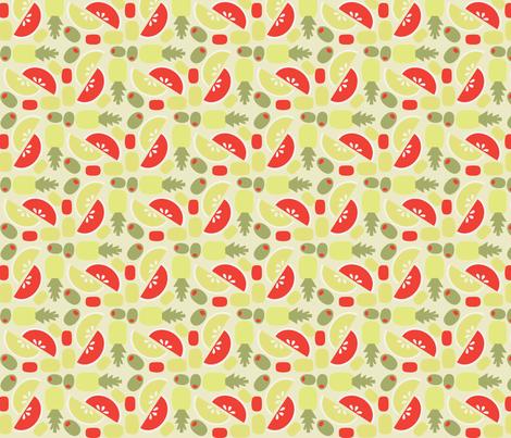 TIki Weekend 2 fabric by acbeilke on Spoonflower - custom fabric