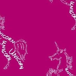 Unicorn Calligram