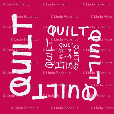 Quilt Calligram