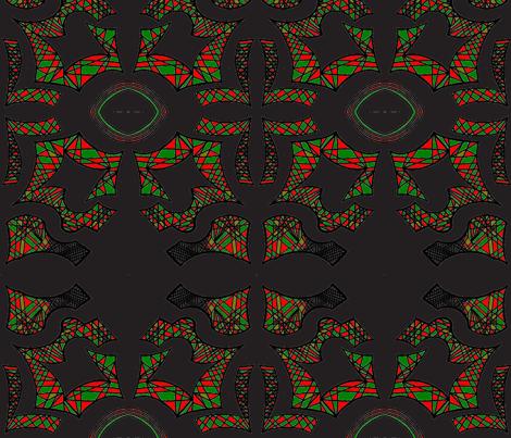 JamJax_38red_green-ch fabric by jamjax on Spoonflower - custom fabric