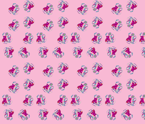 Little Girl Tea fabric by may_flynn on Spoonflower - custom fabric