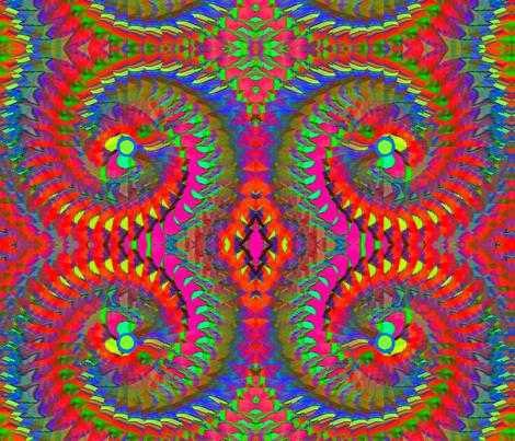 illusionist02 fabric by charldia on Spoonflower - custom fabric