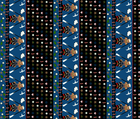 "One good ship  4"" border fabric by paragonstudios on Spoonflower - custom fabric"