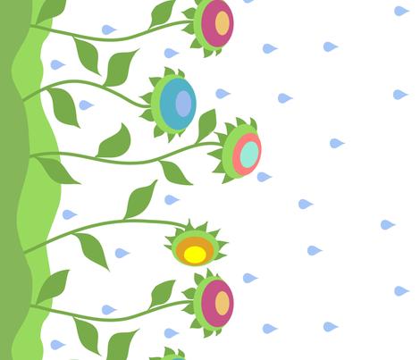 How does my garden grow? fabric by vo_aka_virginiao on Spoonflower - custom fabric