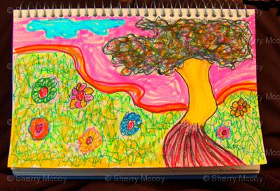 Yellow Tree & Friends