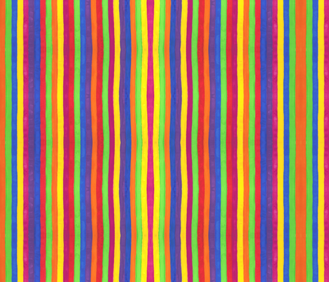 Striped_Border fabric by not-enough-time on Spoonflower - custom fabric