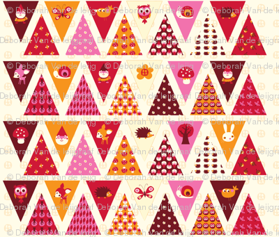 Litte Forest - Bunting